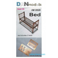 Military bed, 2 pcs