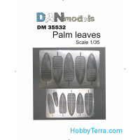 Photo-etched set 1/35 Palm leaves