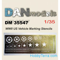 WWII US vehicle marking stencils