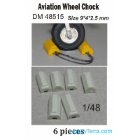 Aircraft wheel chocks #6, 6 pcs