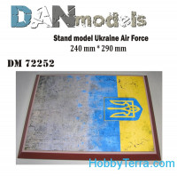 Display stand. Ukrainian AF, 290x240mm