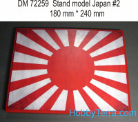 Display stand. Japan theme, #2, 240x180mm