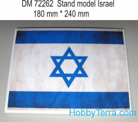 Display stand. Israel theme, 240x180mm