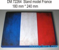 Display stand. France theme, 240x180mm