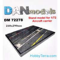 Display stand. Aircraft carrier deck theme, 240x290mm