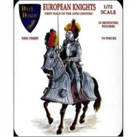 European knights, 1st half of 16th century
