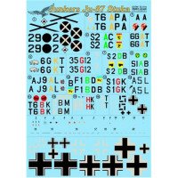 Decal 1/72 for Junkers Ju-87 Stuka