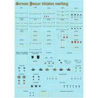 German Panzer division marking, scale 1/72