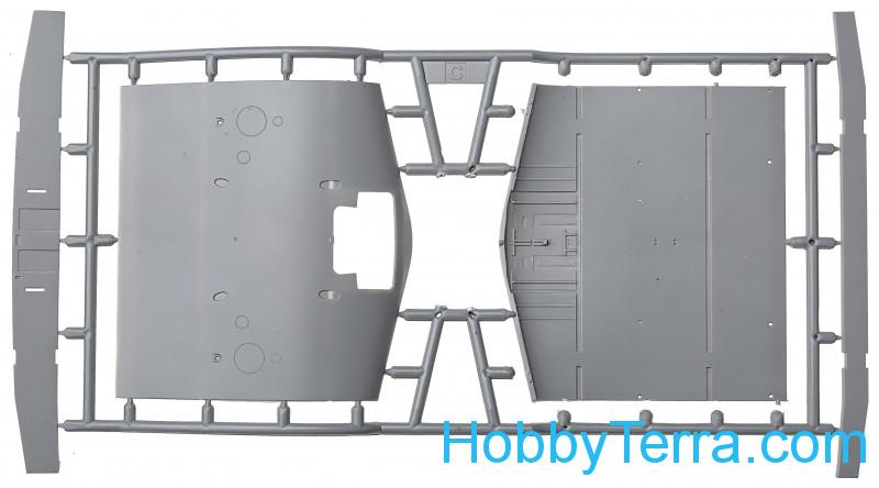 torpedo bomber Savoia-Marchetti S.55 plastic kit