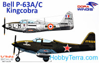 "Bell P-63A/C ""Kingcobra"" (two kits in the box)"