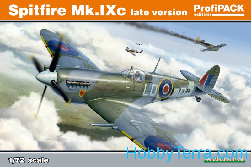 Spitfire Mk.IXc (late version), Profipack edition