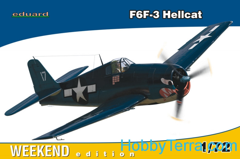 Eduard  07414 F6F-3 Hellcat, Weekend edition