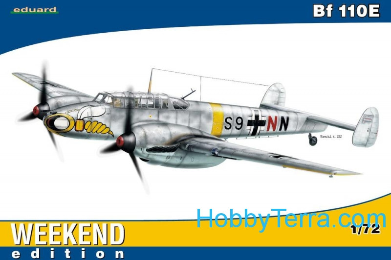 Messerschmitt Bf 110E, Weekend edition