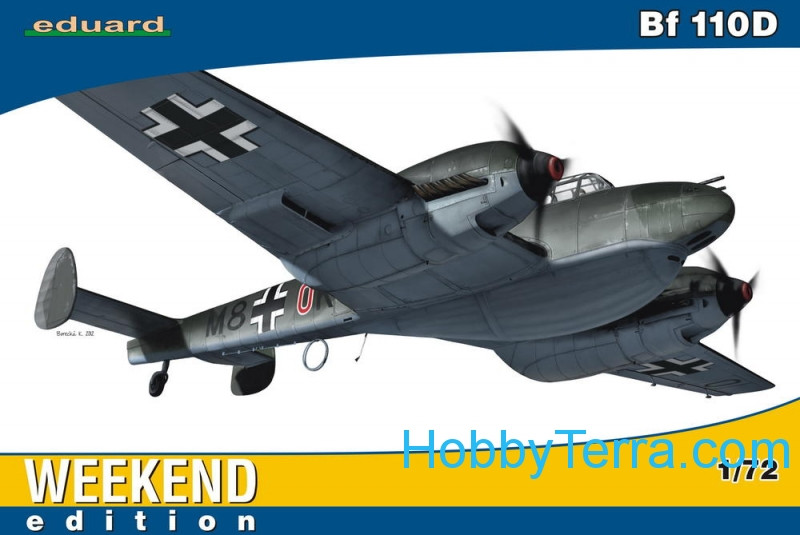 Messerschmitt Bf 110D, Weekend edition