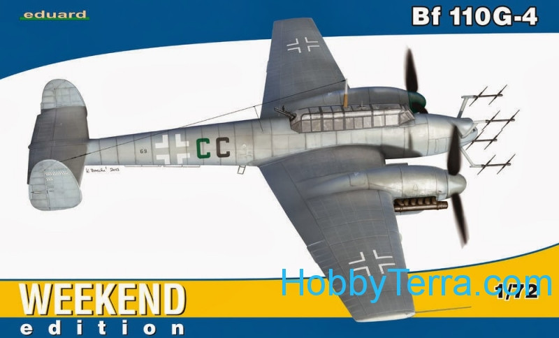 Eduard  7422 Messerschmitt Bf 110G-4, Weekend edition
