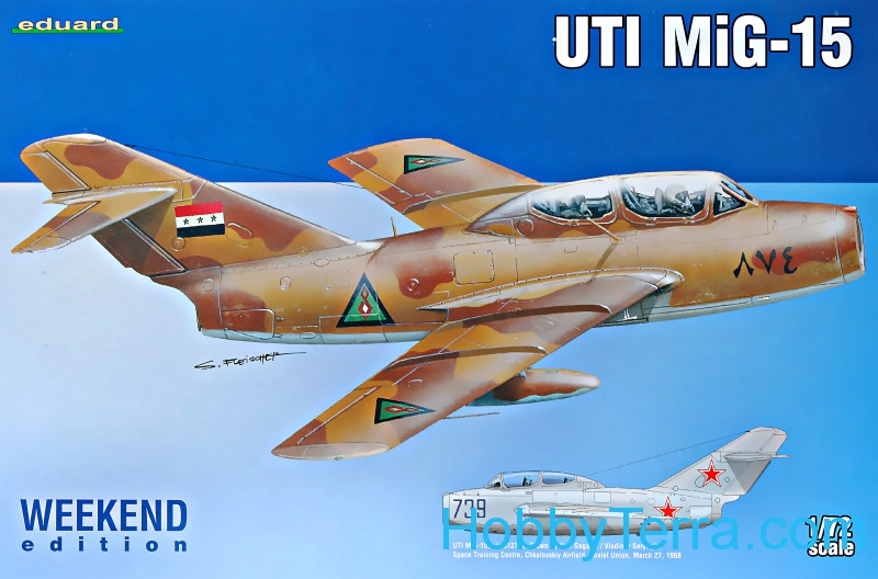 MiG-15 UTI fighter, Weekend Edition