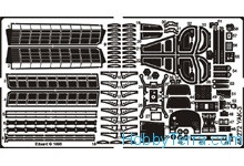 Photo-etched set 1/48 Yak-3, for Eduard kit