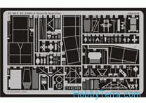 Photo-etched set 1/48 Fi 156C-3 Storch interior s.adh, for Tamiya kit