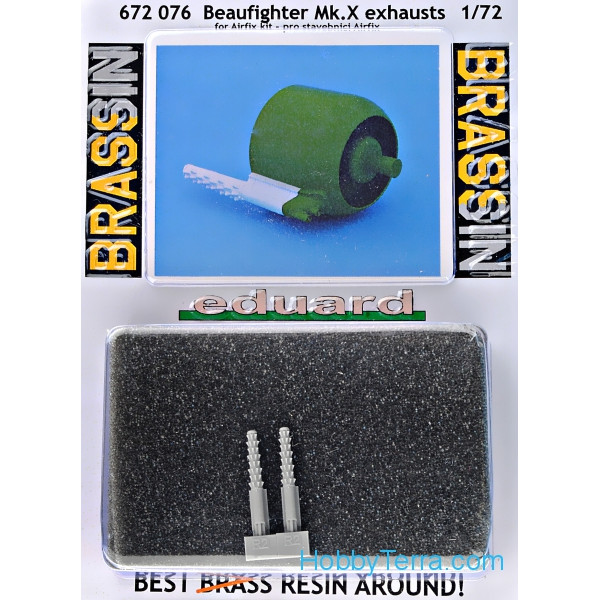 Brassin 1/72 Beaufighter Mk.X exhausts
