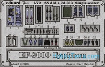 Eduard  SS313 Photo-etched set 1/72 EF-2000 Typhoon Color, for Revell kit