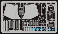 Photo-etched set BIG-ED 1/35 SA-2 missile & ZiL-157 truck, for Trumpeter kit