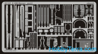 Photo-etched set BIG-ED 1/48 F-18D Hornet, for Hasegawa kit