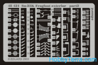 "Photoetched set BIG-ED 1/48 Su-25K ""Frogfoot"""