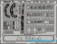 Photo-etched set BIG-ED 1/48 Ju 88A-4, for Dragon kit