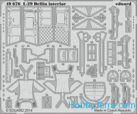 Photo-etched set BIG-ED 1/48 L-29 Delfin (AMK)