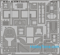 Photo-etched set BIG-ED 1/48 Ju 87D-5, for Italeri kit