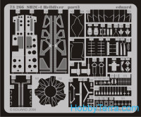Photo-etched set BIG-ED 1/72  SB2C-4 HELLDIVER, for Academy kit
