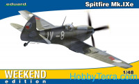 Spitfire Mk.IXe, Weekend edition
