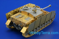 Photo-etched set 1/72 Zimmerit stuG.IV late, for Dragon kit