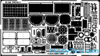 Photo-etched set 1/35 BRDM-2, for Revell kit