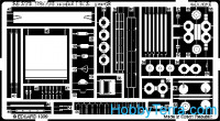 Photo-etched set 1/35 T-34/76 mod.1942, for Zvezda kit