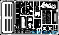 Photo-etched set 1/35 T-72M2 with ERA, for Dragon kit