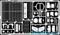 Photo-etched set 1/35 T-64BV, for Skif kit