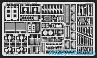 Photo-etched set 1/35 Sd.Kfz.9FAMO, for Tamiya kit