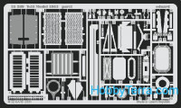 Photo-etched set 1/35 T-55, for Trumpeter kit