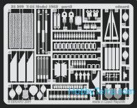 Eduard  35389 Photo-etched set 1/35 T-55, for Trumpeter kit