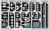 Photo-etched set 1/35 Sdkfz.2 Kettenkrad, for Dragon kit