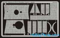 Photo-etched set 1/35 Pz.V Panther A (Zimmerit), for Tamiya kit