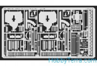 Photo-etched set 1/35 M113A1 Vietnam Exterior, for Academy kit