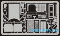 Photo-etched set 1/35 M-48A3 Patton