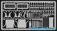 Photo-etched set 1/35 M4A3 Sherman 75mm, for Tamiya kit