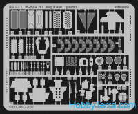 Photo-etched set 1/35 M-923 A1 Big Foot, for Italeri kit
