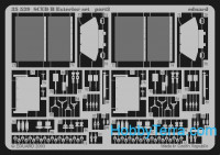 Photo-etched set 1/35 SCUD B exterior, for Dragon kit