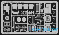 Photo-etched set 1/35 SCUD B interior, for Dragon kit