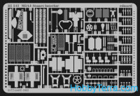 Photo-etched set 1/35 M3A1 Stuart interior, for Academy kit