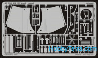 Photo-etched set 1/35 Zil 157 SA-2 truck, for Trumpeter kit